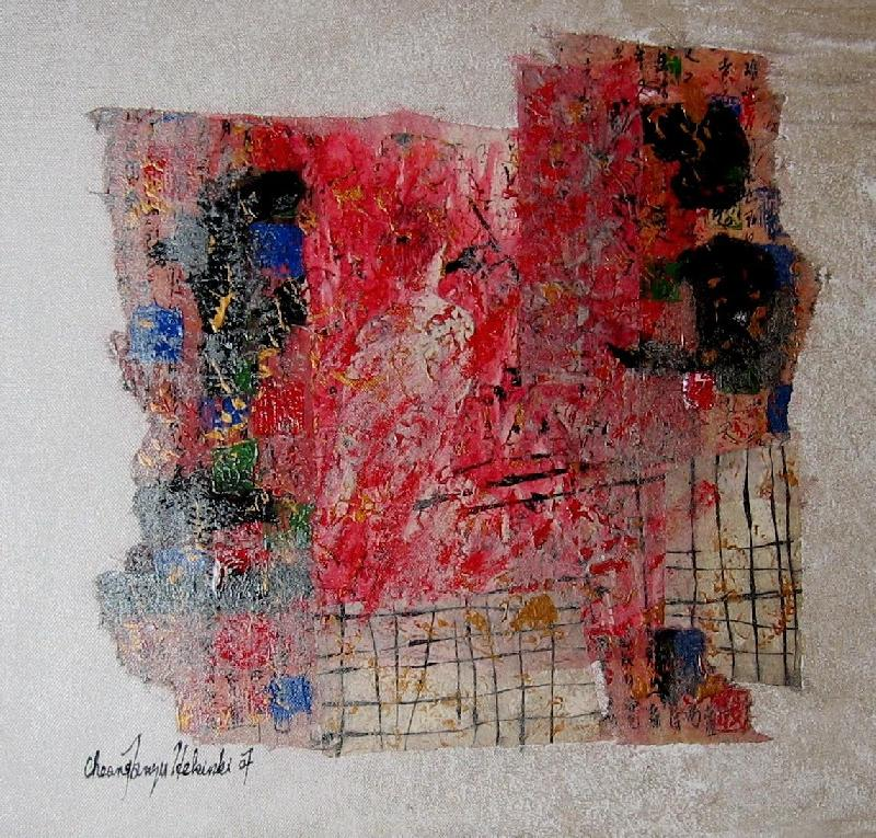 Nude I, mixed on canvas, 2007