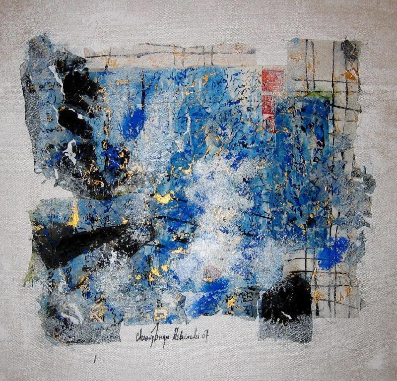 Nude II, mixed on canvas, 2007