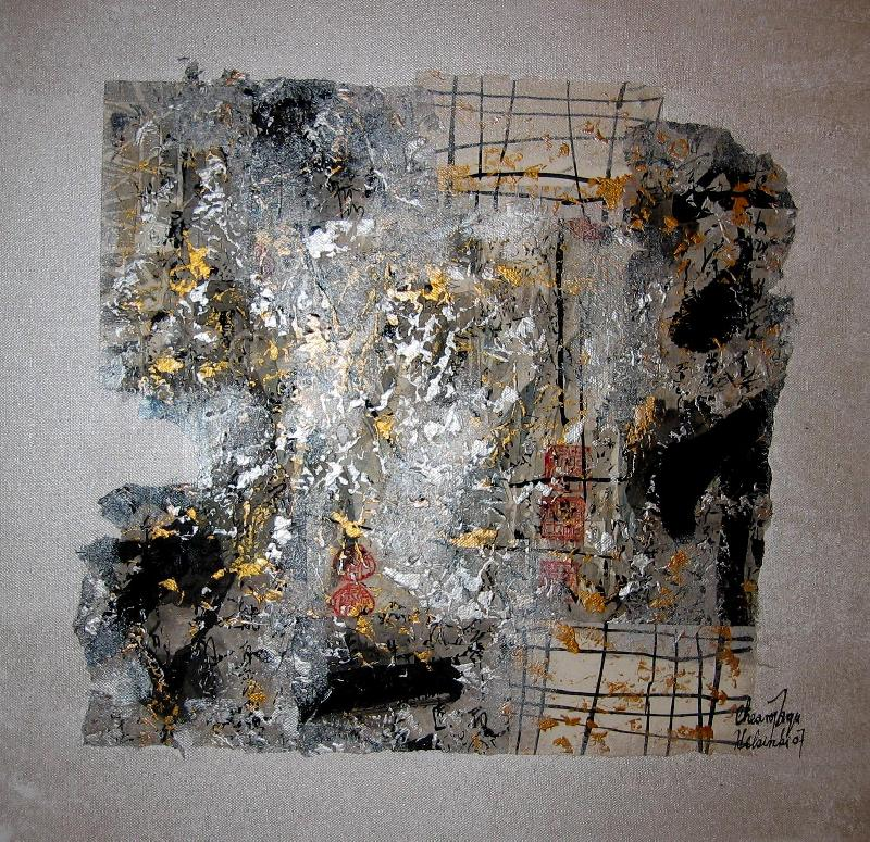 Nude III, mixed on canvas, 2007