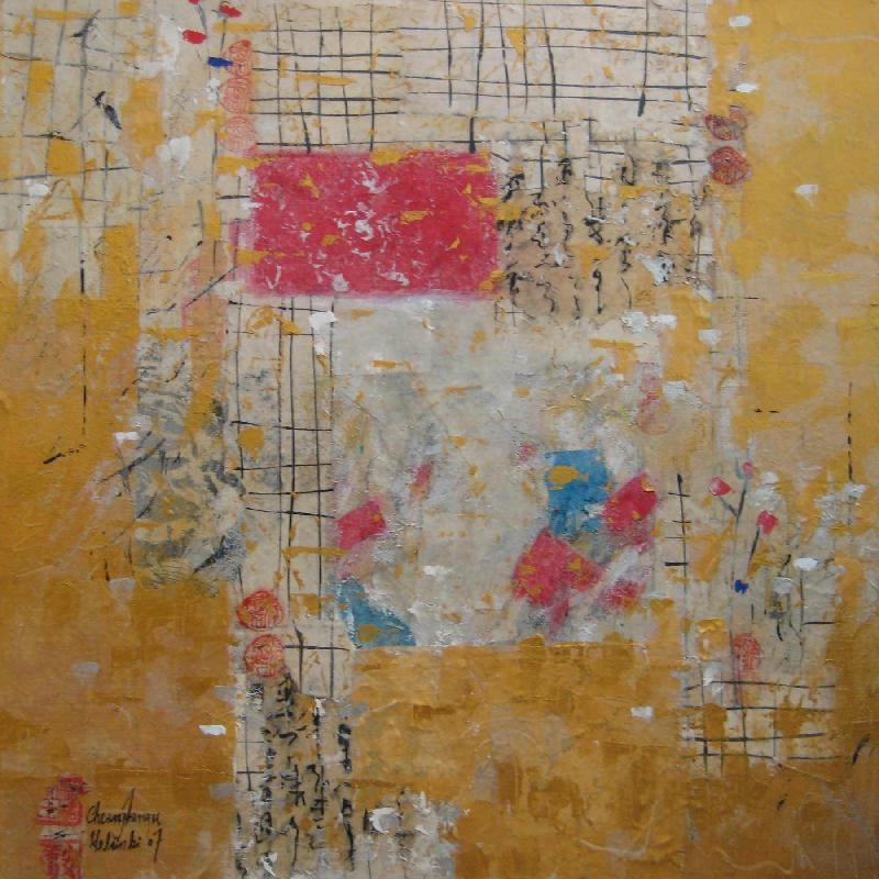 Tea Party II, mixed media on canvas, 2007